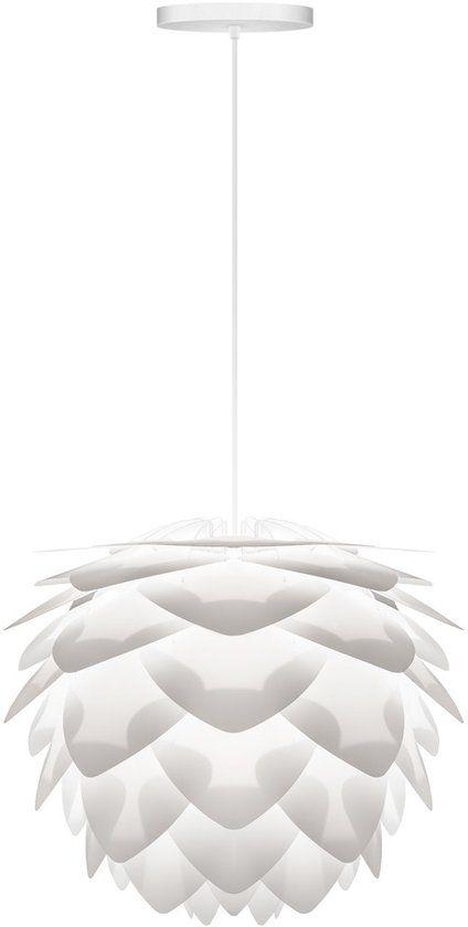 VITA Silvia Mini - Hanglamp - Ø34 cm - Wit - incl. wit koord