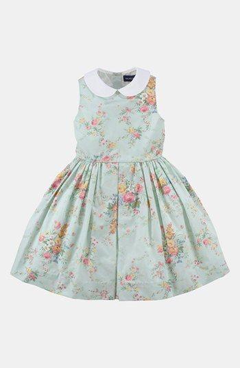 Ralph Lauren Floral Dress (Toddler) | Nordstrom