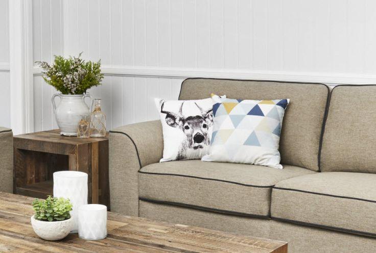 Deer & Kaleidoscope Cushions   Super A-Mart