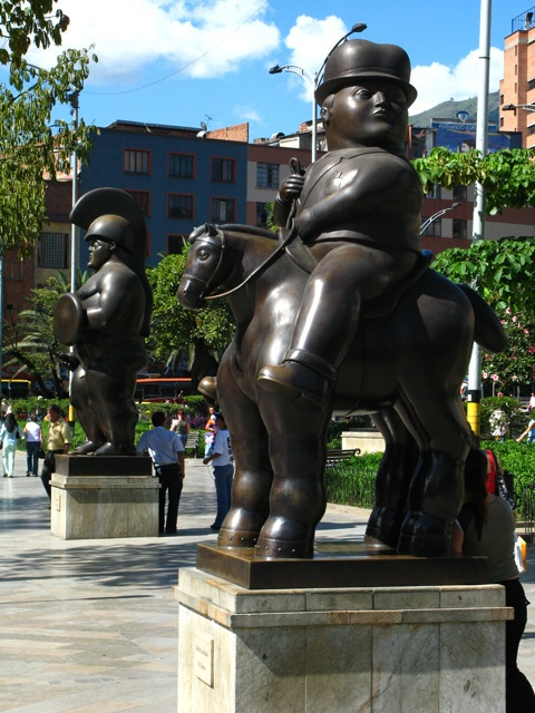 Botero Sculptures Plaza, Medellin, Colombia