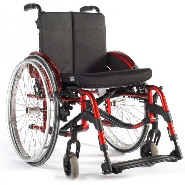 Sillas de ruedas activa, ideal para un primer contacto con sillas de ruedas. Posee una estructura de aluminio y además es plegable, con un sistema excelente de estabilidad. #sillas #ruedas #activa #aluminio #estabilidad #plegable #ortopedia