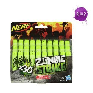 Buy Nerf Zombie Strike 30 Dart Refill Pack at Argos.co.uk, visit Argos.co.uk to shop online for Action toys and blasters, Blasters, launchers and accessories
