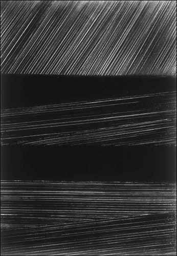 """Mi favorita de Pierre Soulages... """"Painting is a play of opacities and transparencies"""". ¡Genio!"""
