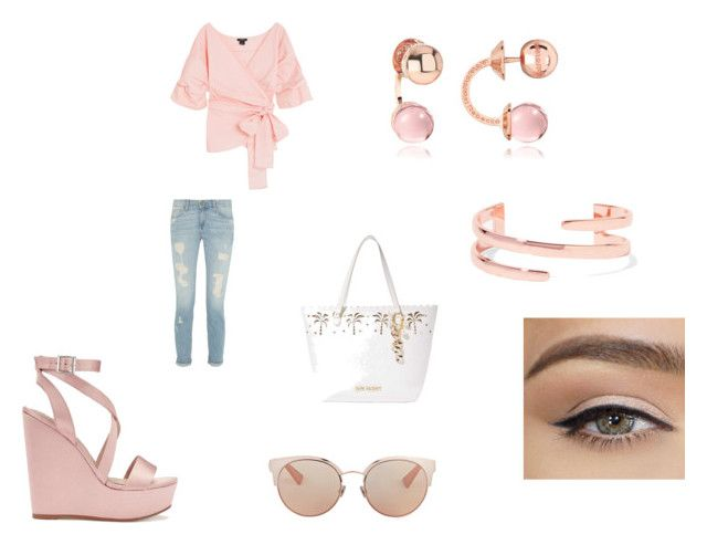 """""""outfit 46"""" by missfede on Polyvore featuring moda, Miss Selfridge, Betsey Johnson, Kenneth Jay Lane, Rebecca e Christian Dior"""