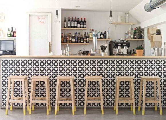 Bar avec carreaux de ciment