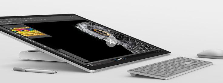 Microsoft Surface Studio video Studio Mode
