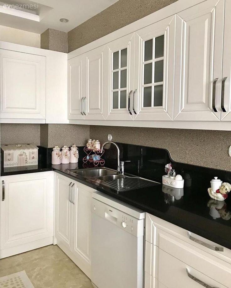 ведь белые кухни с темными столешницами фото таким замечательным