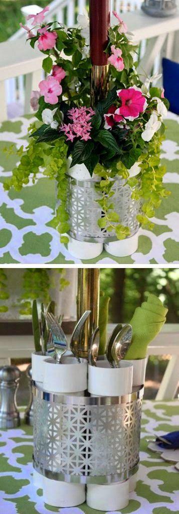 DIY   Patio Table Centerpiece Backyard, Ideas, Garden, Diy, Bbq, Hammock