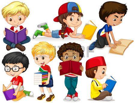Afbeeldingsresultaat voor jongens die lezen