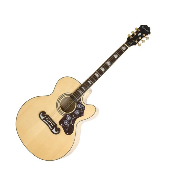 Epiphone ej200sce jumbo cutaway guitar epiphone guitar