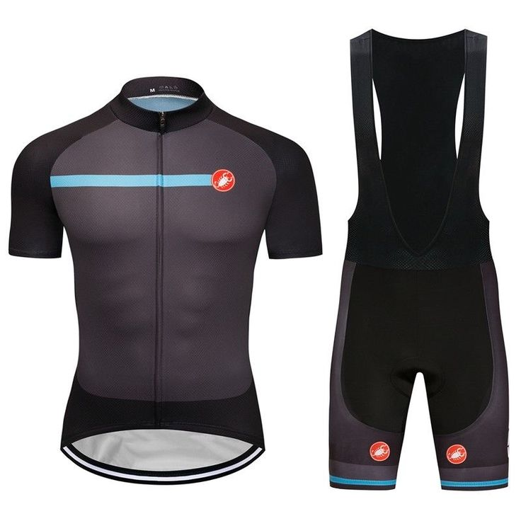 2018 New Men's Cycling Outfits Jersey Team Pro Bib Shorts Kits Shirt Pad Tights #Rainsports