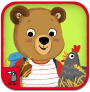 """Bizzy Bear on the Farm""    Ayuda a Bizzy en las tareas de la granja."