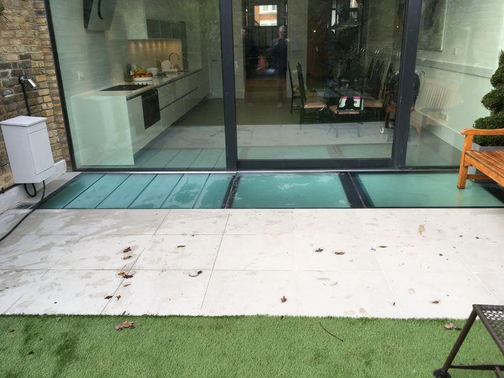 Three types of Walk-On Glazing; double glazed, single glazed & slatted