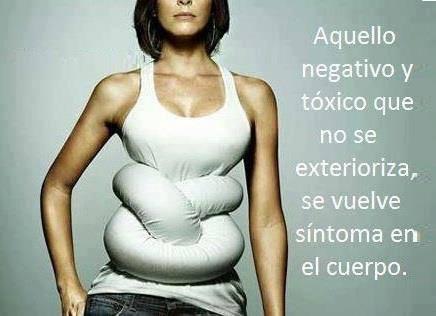 Si te quedas lo toxico dentro de ti se convertirá en un sintoma #salud #Psicologia #autoayuda