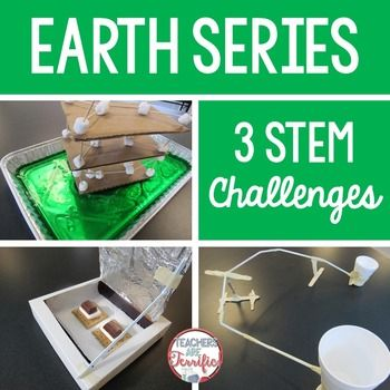 STEM Challenges Perfect for Earth Day and Spring: This is a set of three challenges that all involve the earth!  Students will be building earthquake resistant structures, solar ovens, and water pipelines. Although these make excellent challenges for Earth Day, they may be used at any time of year!Please note: This package contains three challenges.
