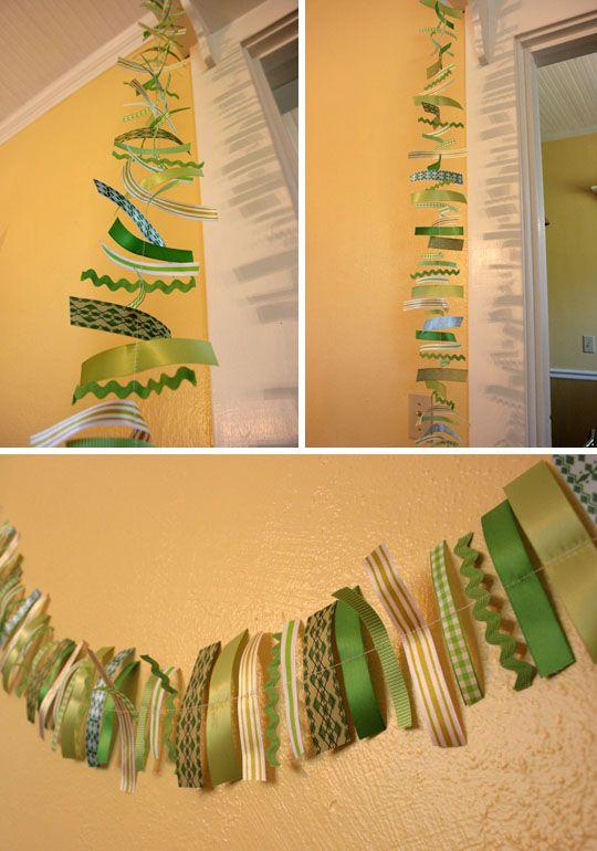 299 best ribbon art images on Pinterest | Bricolage, Creative ideas ...
