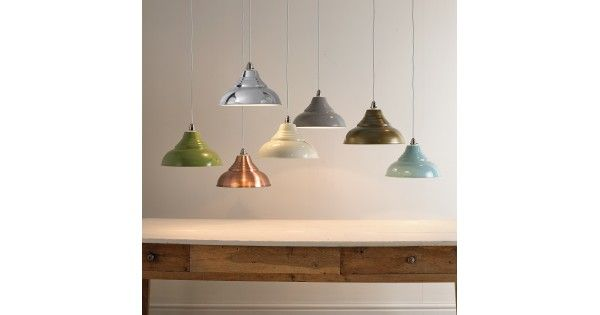 Looking to add a stunning accent to your home with easy to fit metal light shades, light fittings and light fixtures in an excellent selection of colours and shapes to complete your home decor. From retro metal shades in copper and chrome, to fishermans lanterns in glossy coloured finishes,