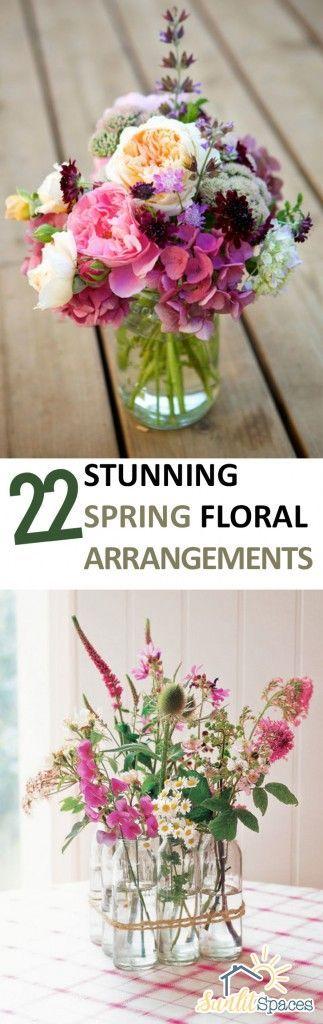22 Stunning Spring Floral Arrangements Home Flower