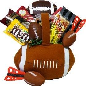 Football Fantasy Snacks and Treats Gift Basket: Gourmet Food, Football Fantasy, Christmas Gifts Ideas, Football Gifts Baskets, Treats Gifts, Fantasy Snacks, Valentines Day Gifts, Christmas Gifts Baskets, Football Birthday