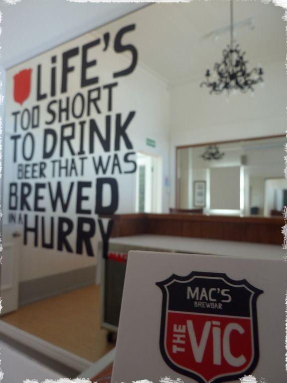 The Vic Brewbar Photo Gallery - Nelson New Zealand