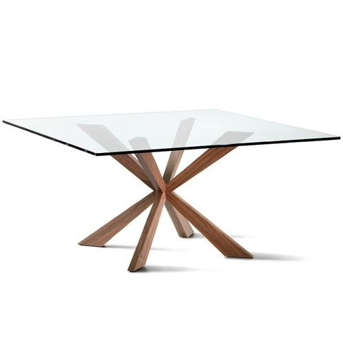 Spyder Square Dining Table, 55-Inch