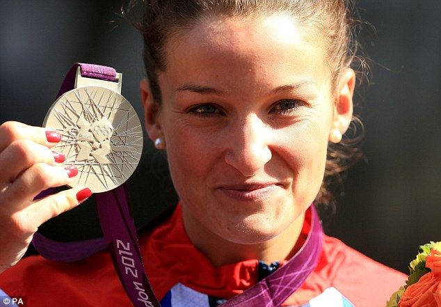 Lizzie Armstrong, 1st British medal.   Come on Team GB!
