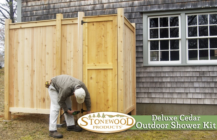 1000 Ideas About Outdoor Shower Kits On Pinterest Outdoor Showers Cape Co