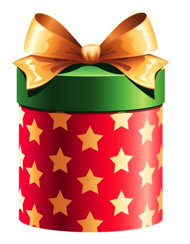 494 best about that gift images on pinterest grinding ribbons round red gift box with gold stars clipart negle Image collections