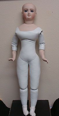 "REDUCED ! Antique Repro Bru French Fashion doll 20"" by Barbara Carroll"