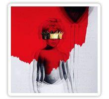 rihanna album cover Sticker