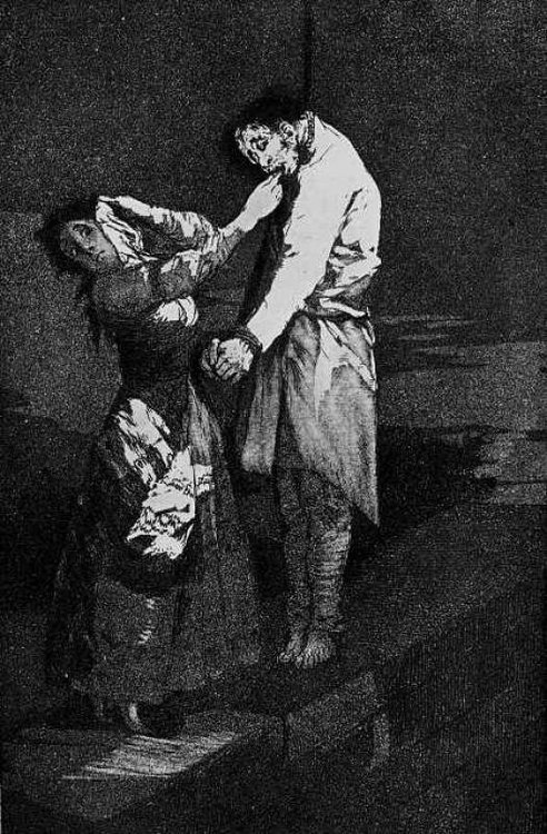 Francisco Goya, Out Hunting for Teeth.