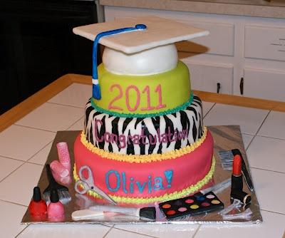 Cosmetology Cake #cakesbymeg