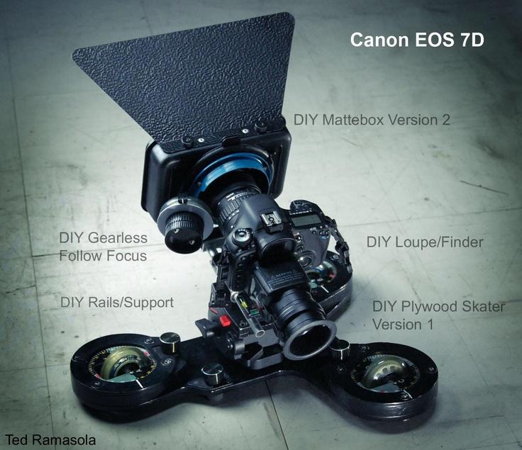 Diy Dslr Camera Rig: 17 Best Images About DSLR Video Rigs On Pinterest