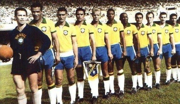 Ademir da Guia Seleção Brasileira Copa 1965 (Foto: Divulgação/ Site Oficial do Palmeiras)