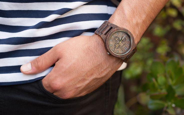 Jaký model hodinek Wewood Kappa si vybereš ty? Staň se součástí přírody ;-)  http://www.24time.cz/kappa-nut/