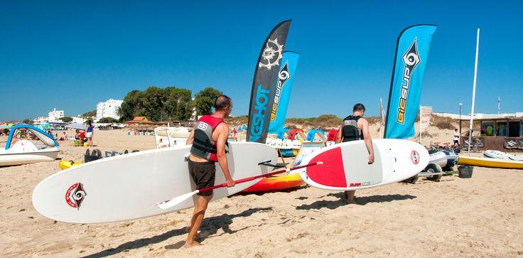 Actividades Deportivas cerca del Hotel, playa Isla Cristina, Club de Vela