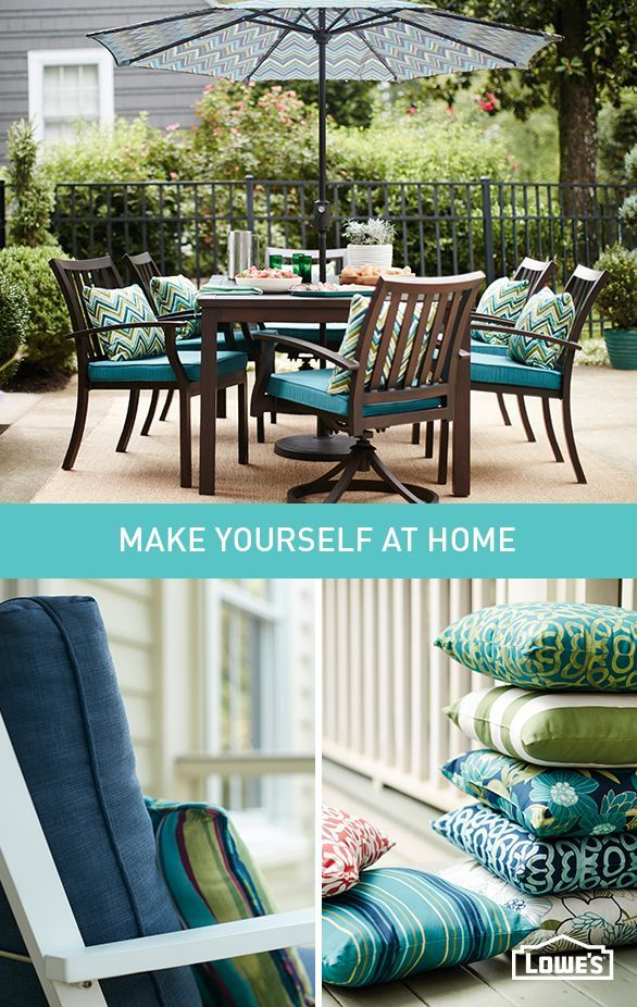 Your patio is an extension of your home  Treat it that way by layering  colorful. 306 best images about Patio Paradise on Pinterest   Decorative