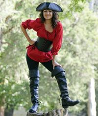 Pirate costume for renaissance festival