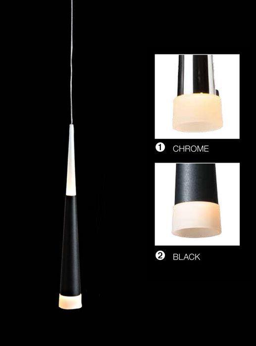 Lampa wisząca BRINA LED AZzardo LP9003-1 (kolor do wyboru) - Cudowne Lampy
