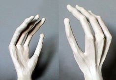 Grey Alien Hand