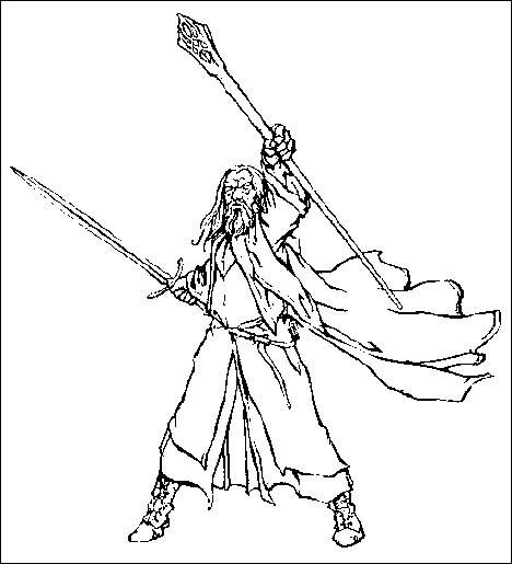 Coloring pages lord of the rings