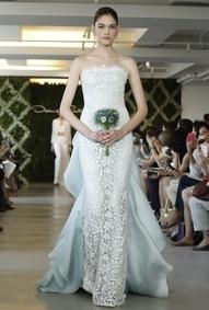Very Special Events by V. Smith: Look Book! Wedding Inspiration: Wedding Dressses, Oscar De La Renta, Blue Wedding Dresses, Share, Fashion Week, Gowns, Oscars, Bride, Larenta
