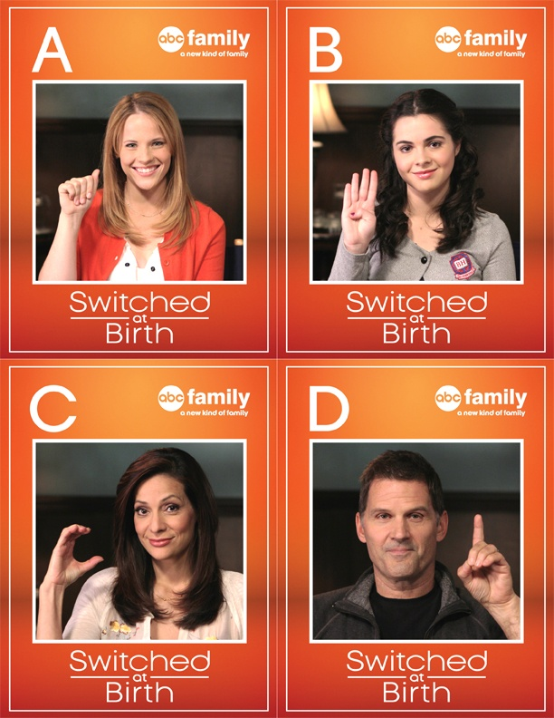 describing the television show switched at birth Switched at birth episode list and show guide: switched at birth tells the story of two teenage girls who discover they were accidentally switched as newborns in the hospital bay kennish grew up in a wealthy family with two parents and a brother, while daphne vasquez, who lost her hearing at an early age due to a case of meningitis, grew up .