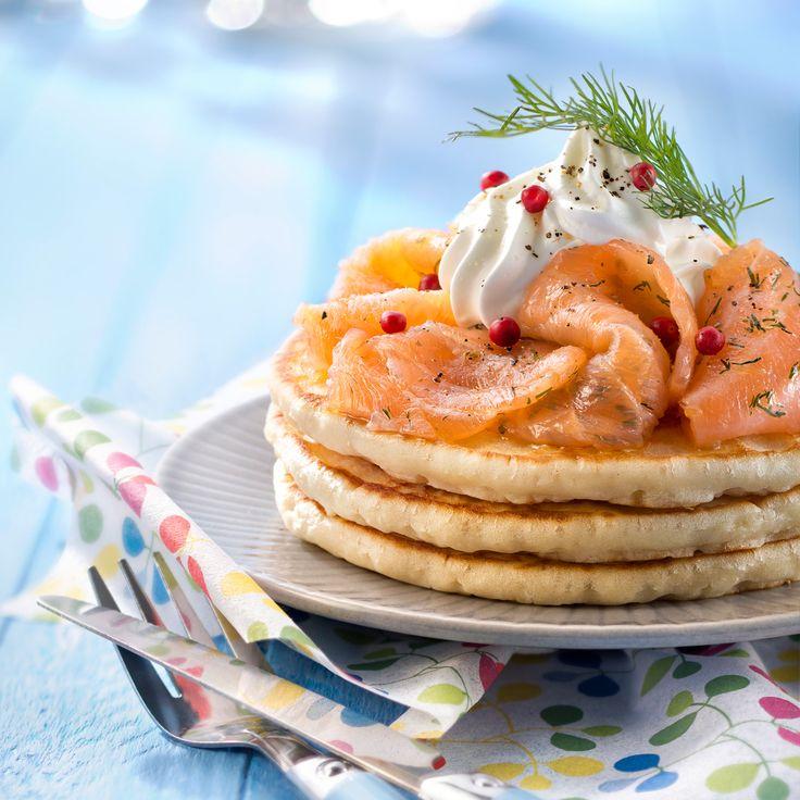 Découvrez la recette Pancake salé sur cuisineactuelle.fr.