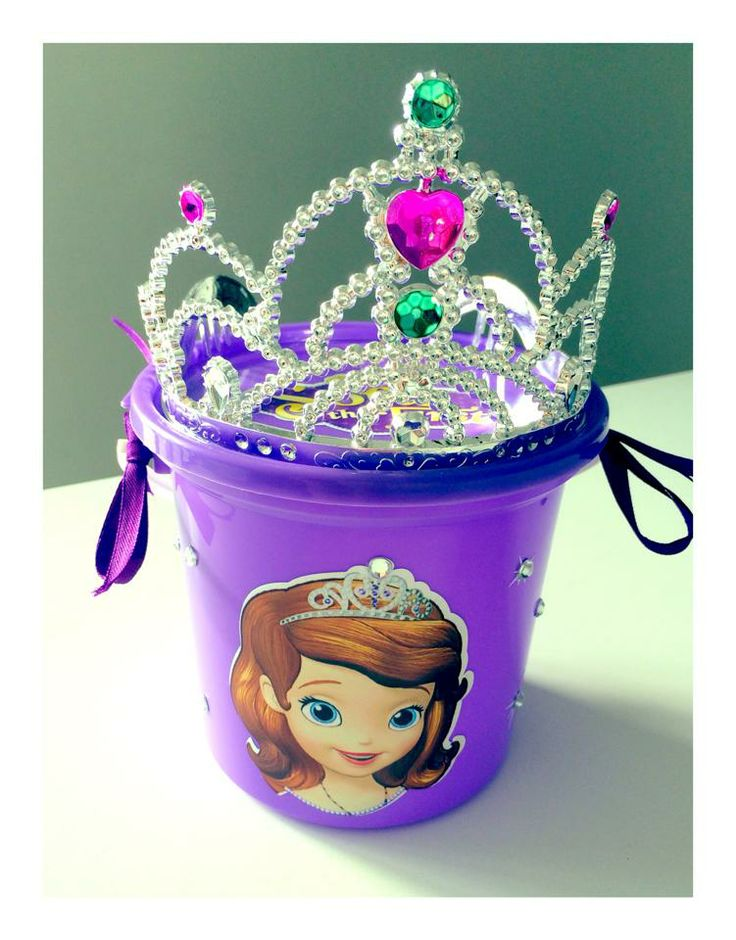 Sophia the first party bucket - email jackie@babazoo.co.za