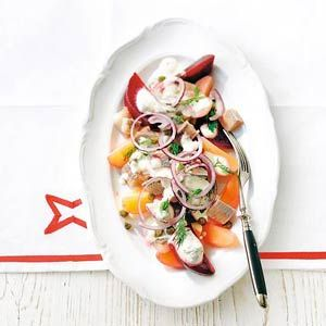 Bieten-haring-aardappelsalade - Allerhande