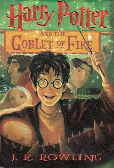 Book #4- Harry Potter and the Goblet of Fire.  Started on 6/30/2015.