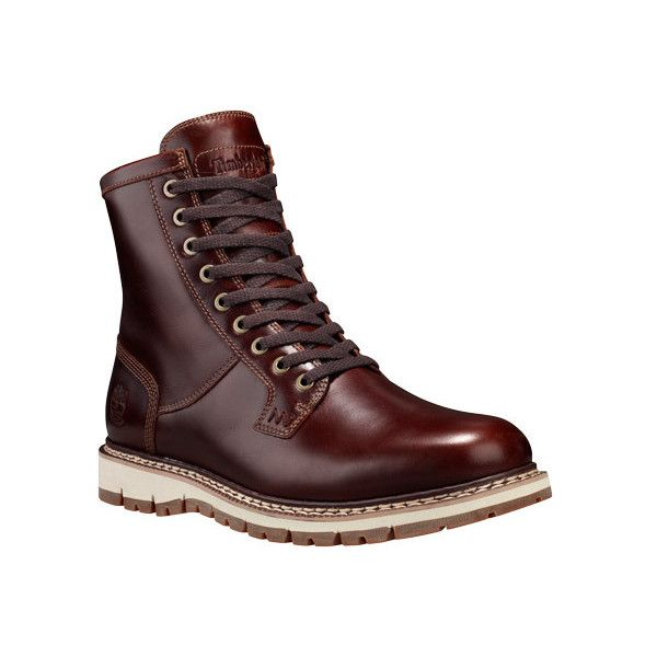 Men's Timberland Britton Hill Plain Toe Waterproof Boot ($180) ❤ liked on Polyvore featuring men's fashion, men's shoes, men's boots, men's work boots, casual, waterproof boots, mens waterproof boots, timberland mens boots, mens work boots and mens boots