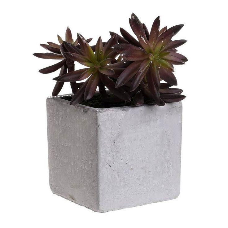 Artificial Flower In a Pot - inart