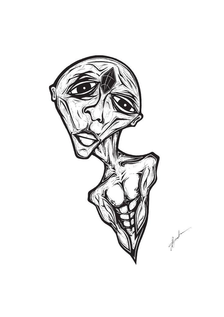 'Jet Stoned' Illustration By Rachel J. Enoka